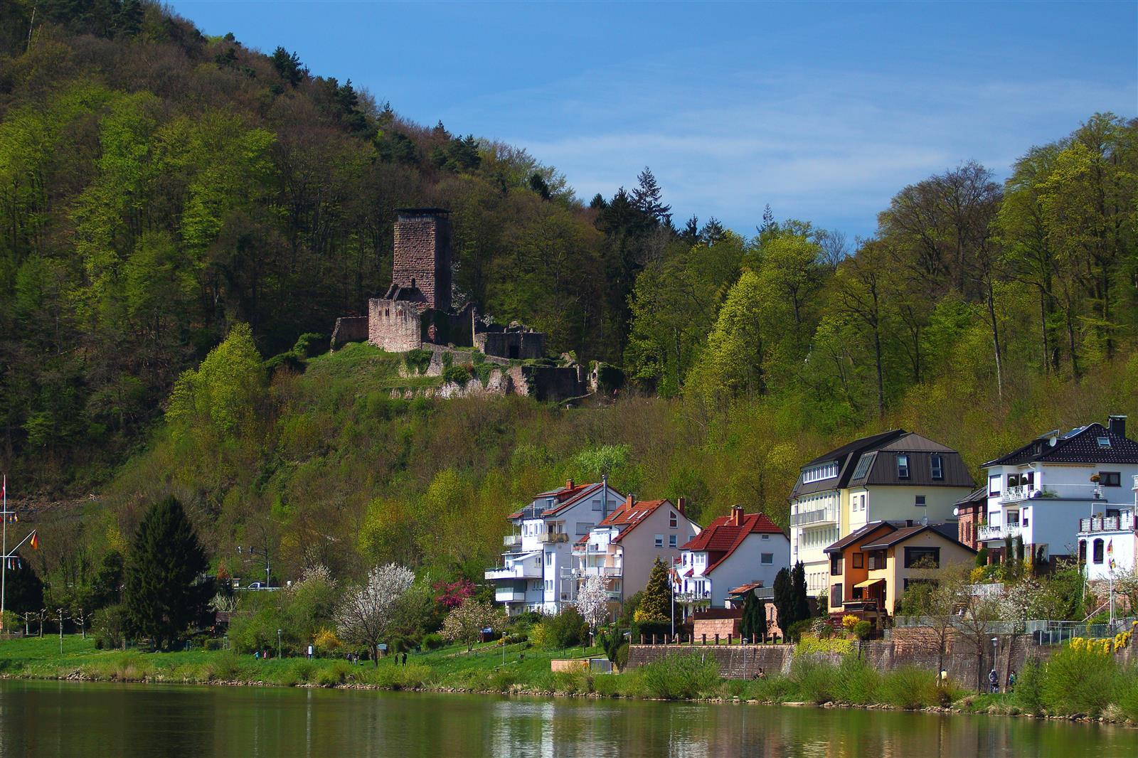 Hanyinfo Nackersteinach And Dilsberg BadenWürttemberg Hessen - Hessen germany