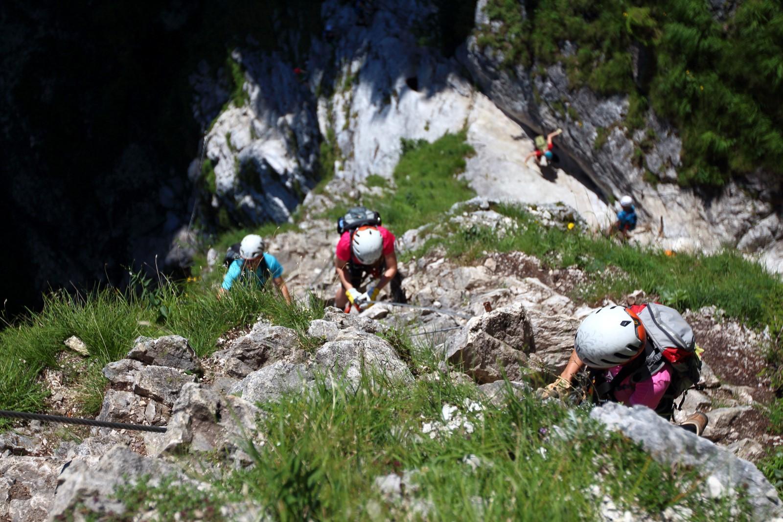 Klettersteig Rakousko : Klettersteig rakousko kaiserschild bergsteigen