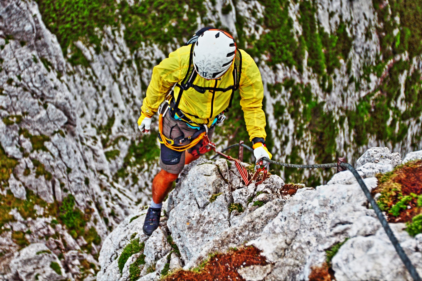 Klettersteig Intersport : Hany výstup na großer donnerkogel intersport klettersteig
