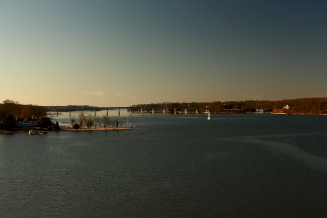 Severn River, Baltimore Annapolis Blvd., Annapolis, Maryland,(USA)