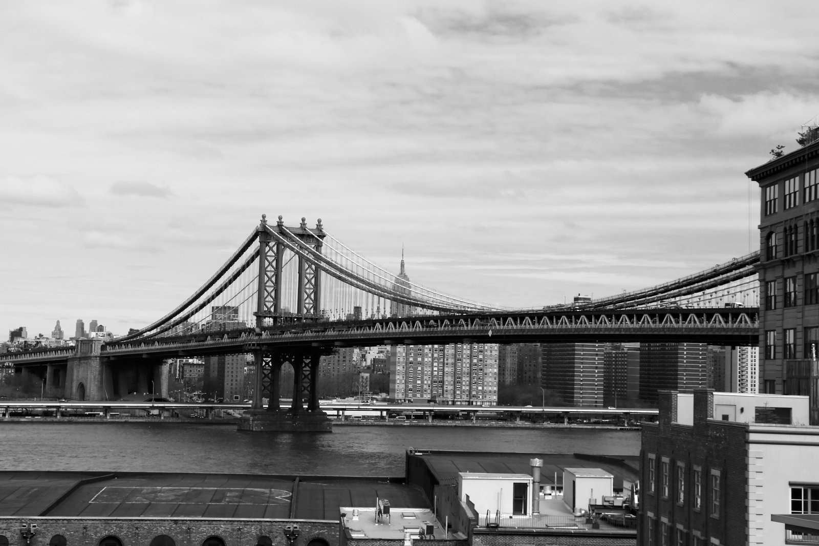 Brooklynský most, brooklyn, manhattan, new york, spojené státy