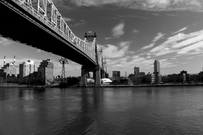 Queensboro Bridge, Manhattan, Queens, New York, Spojené státy americké (USA)
